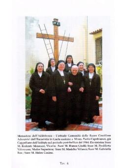 LA CHIESA DI SAN GREGORIO E LE SUORE CROCIFISSE ADORATRICI DELL'EUCARESTIA A GAETA