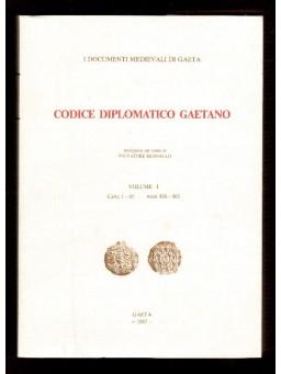 VOL I Codice Diplomatico Gaetano -