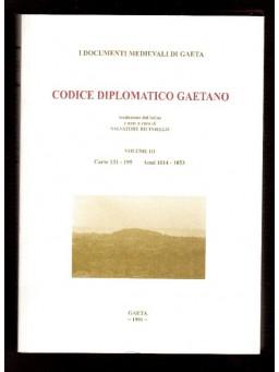 VOL II Codice Diplomatico Gaetano -