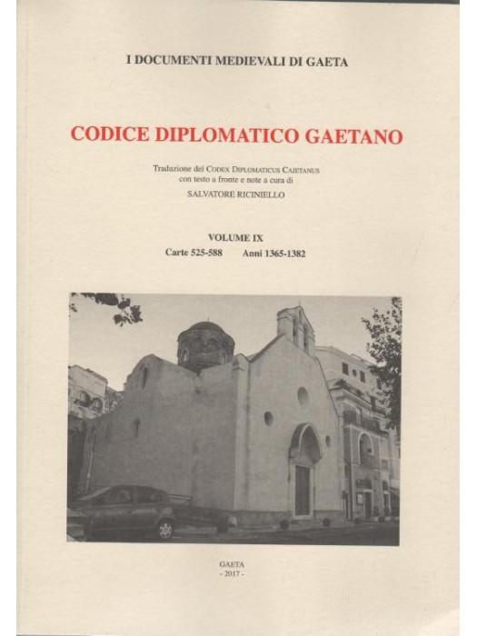 VOL XI Codice Diplomatico Gaetano