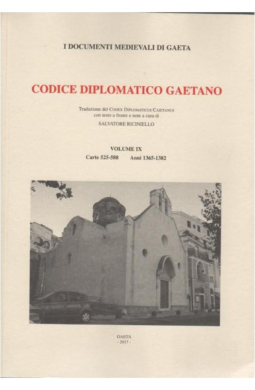 VOL VIII Codice diplomatico Gaetano