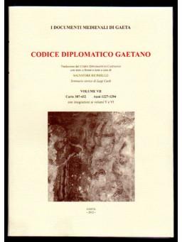 Codice diplomatico Gaetano 10 volumi collana completa